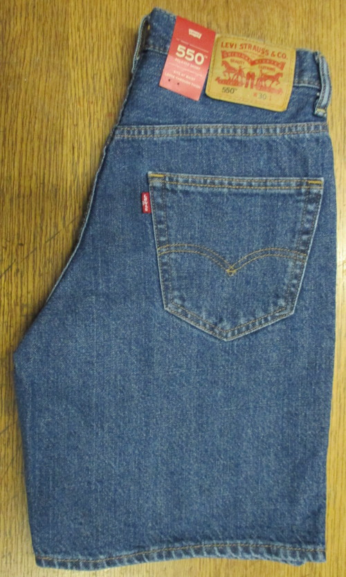 Levis short 550 Dark Stone wash 35550 2111