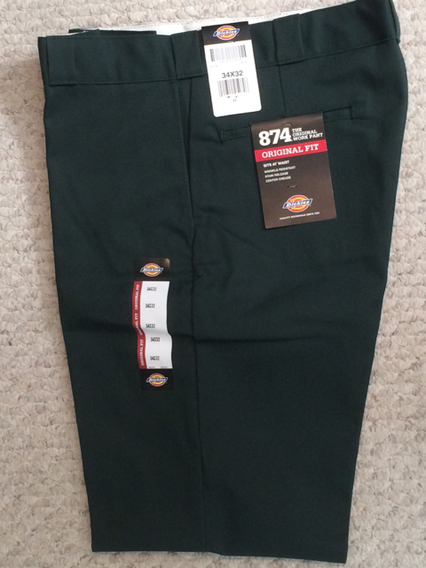 Dickies 874 Traditional Work Pant - Green Hunter