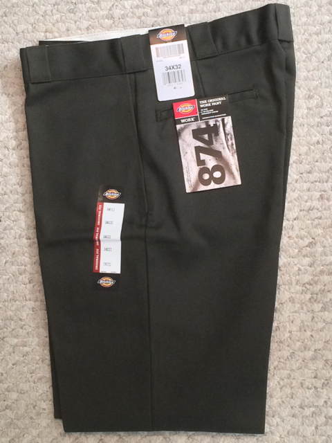 Dickies 874 Traditional Work Pant - Olive Green