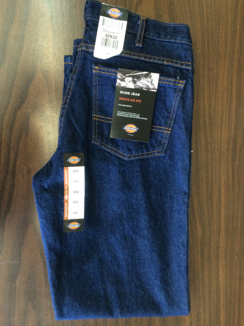 Dickies Regular Straight Jeans - Rinsed Indigo Blue