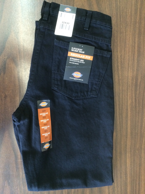 Dickies Regular Straight Jeans - Black