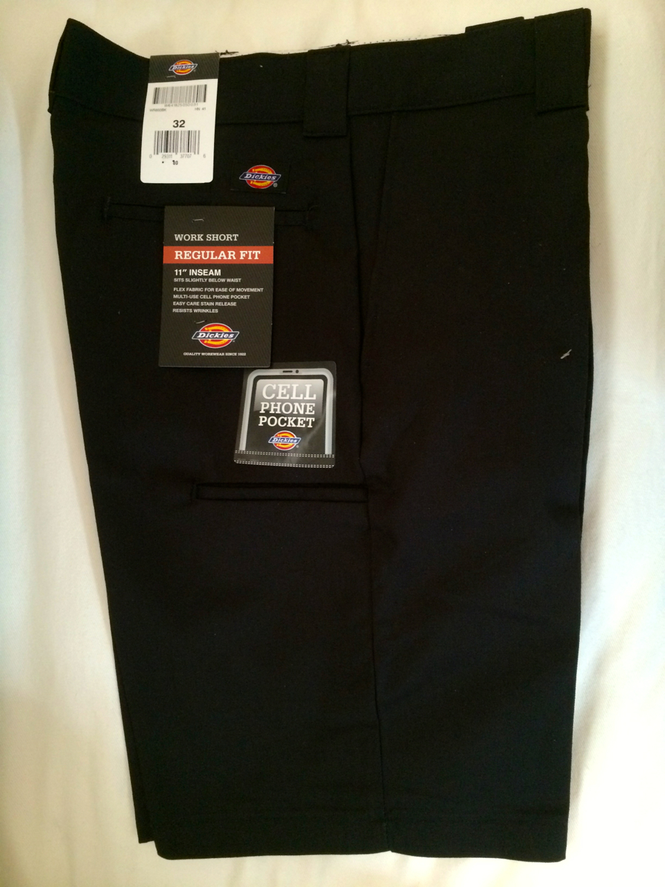 Dickies Regular Fit Work Short - Black