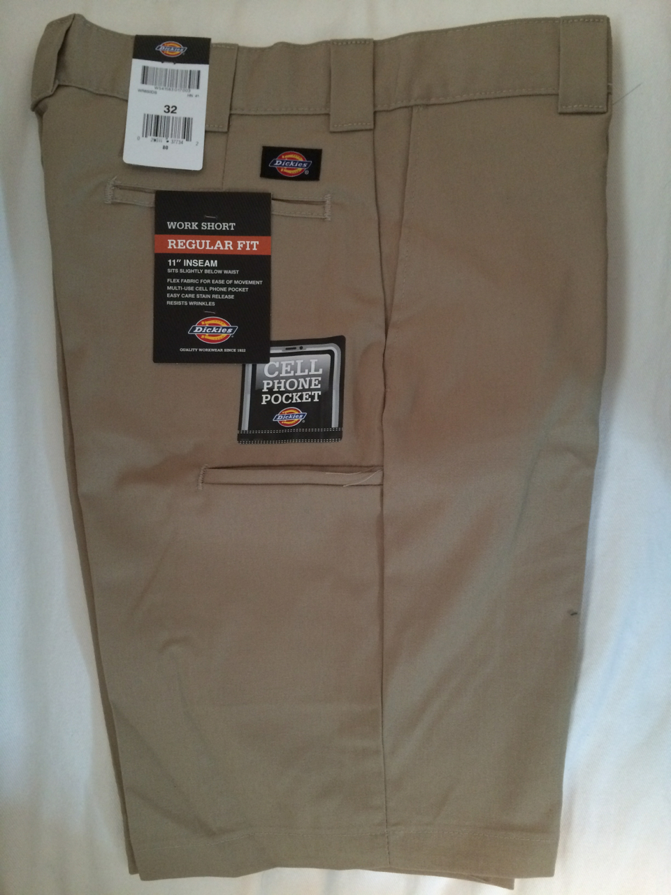Dickies Regular Fit Work Short - Khaki