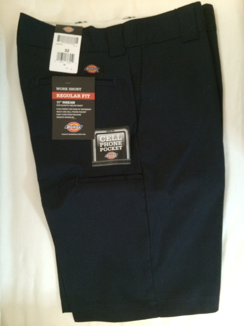 Dickies Regular Fit Work Short - Navy
