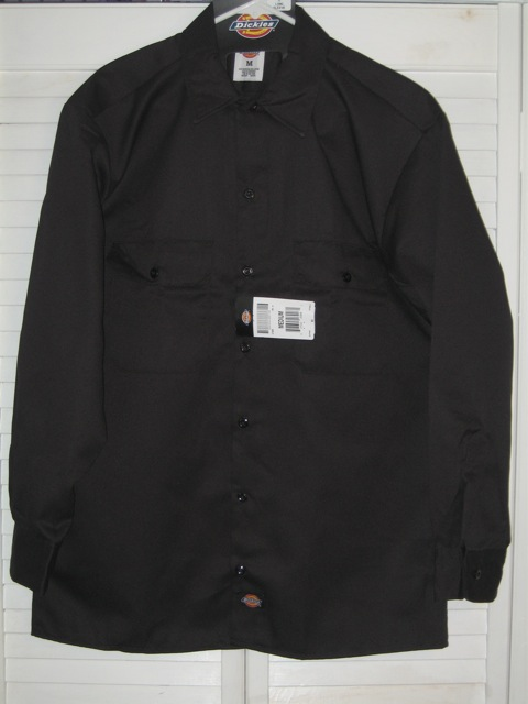 Dickies Long Sleeve Shirt (574) - Black