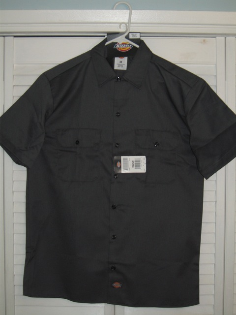 Dickies Short Sleeve Shirt (1574) - Charcoal
