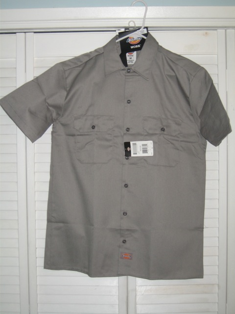 Dickies Short Sleeve Shirt (1574) - Silver