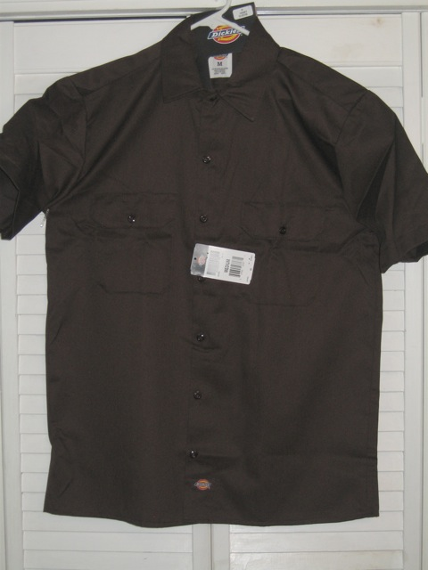Dickies Short Sleeve Shirt (1574) - Brown