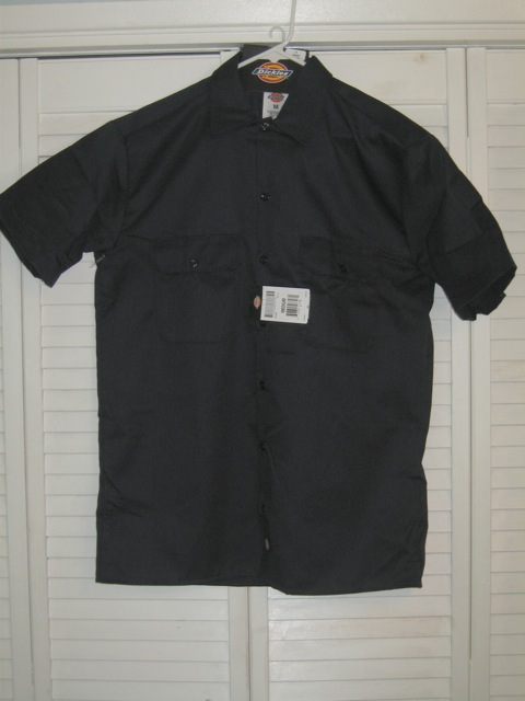 Dickies Short Sleeve Shirt (1574) - Navy