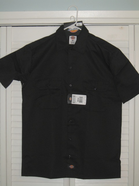 Dickies Short Sleeve Shirt (1574) - Black