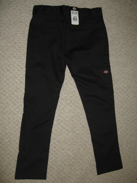 Dickies Skinny Straight Work Pant - Black