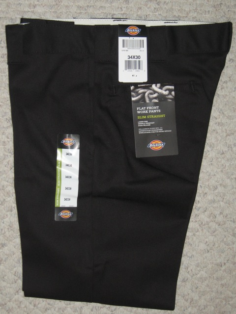 Dickies 873 Slim Straight Work Pant - Navy