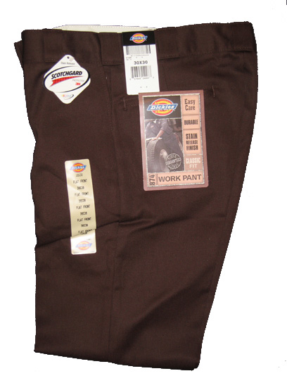 Dickies 874 Traditional Work Pant - Brown