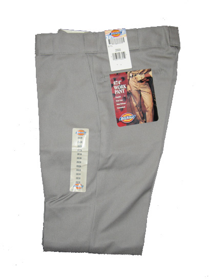 Dickies 874 Traditional Work Pant - Silver