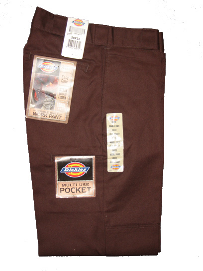Dickies Multi-Use Pocket Double Knee Work Pant - Brown