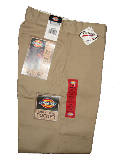 Dickies Multi-Use Pocket Double Knee Work Pant - Khaki