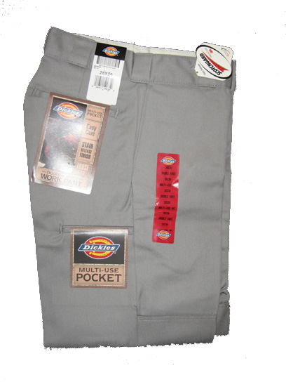Dickies Multi-Use Pocket Double Knee Work Pant - Silver