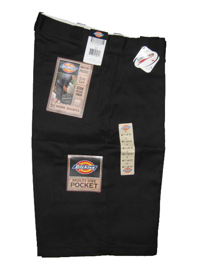 Dickies Multi-Use Pocket Work Short - Black