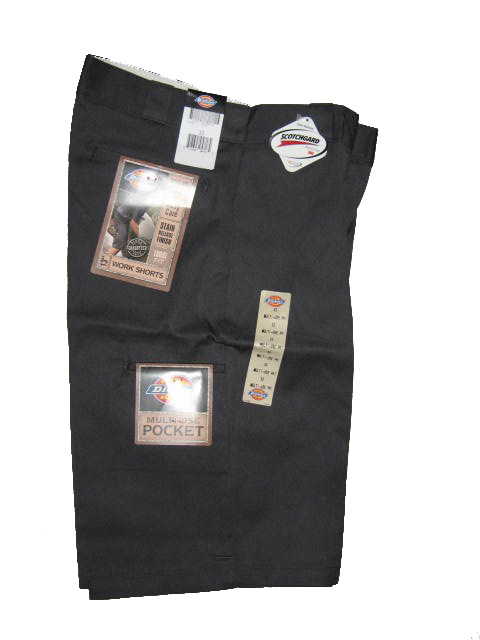 Dickies Multi-Use Pocket Work Short - Charcoal