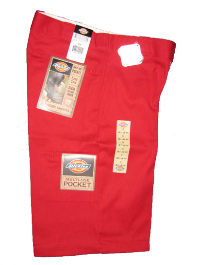 Dickies Multi-Use Pocket Work Short - English Red