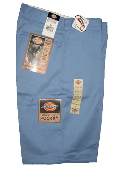 Dickies Multi-Use Pocket Work Short - Light Blue