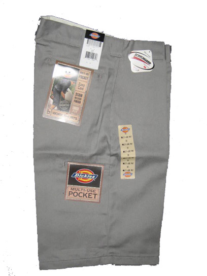 Dickies Multi-Use Pocket Work Short - Silver