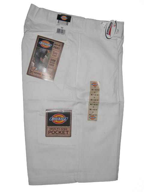 Dickies Multi-Use Pocket Work Short - White