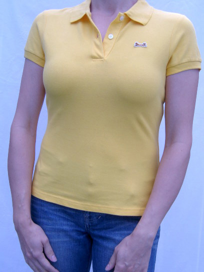 Le Tigre Solid Sunflower Color Polo Shirt