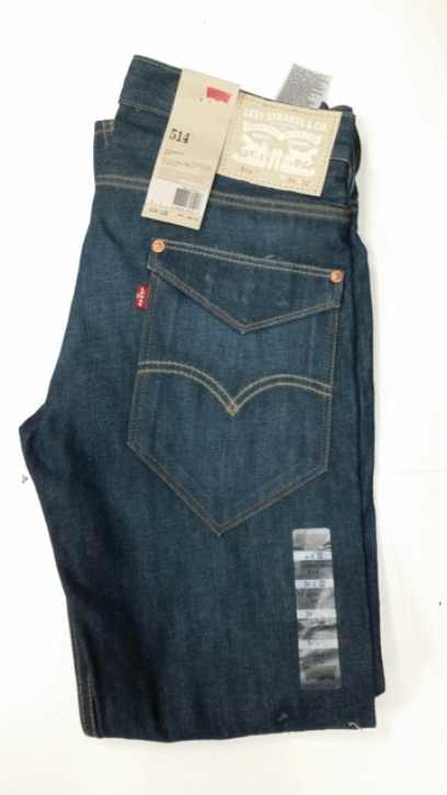 Levis 514 Jeans - Flap Back Pocket (965140004)
