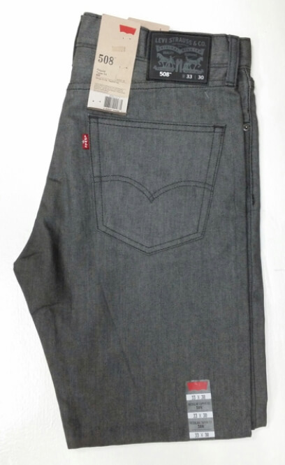 Levis 508 Jeans - Tumbled Merlin (5210014)