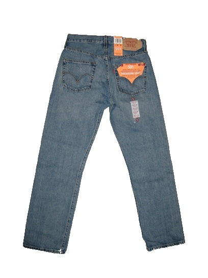 Levis 501 Jeans - Vintage Stone (0343) - Click Image to Close