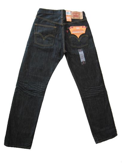 Black 501 Levis Jeans