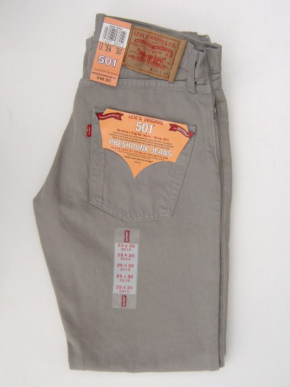 Levis 501 Jeans - Dyed Grey