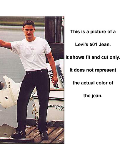 Levis 501 Jeans - Dyed White