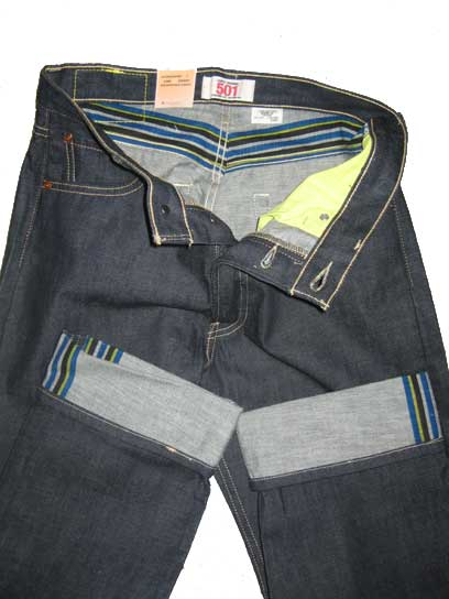 Levis 501 Jeans - Premium Shrink-to-fit (0550)