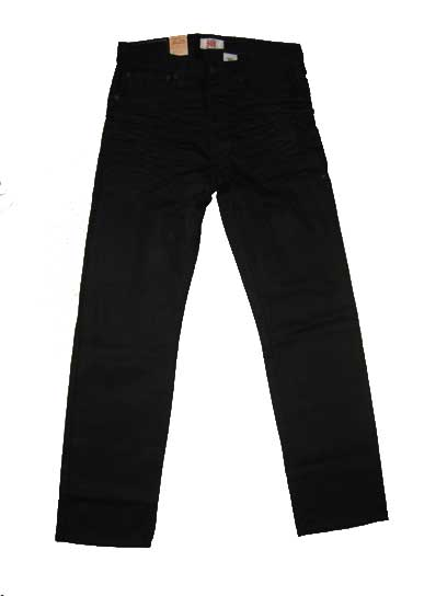 Levis 501 Jeans - Premium Original - Polished Black (0638)