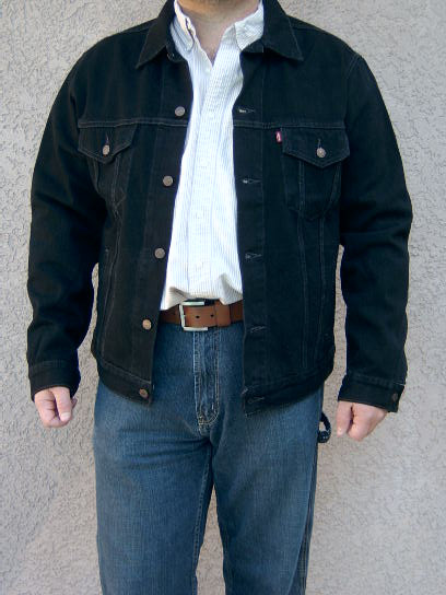 Black Levi Shirt Levis Denim Jacket Black