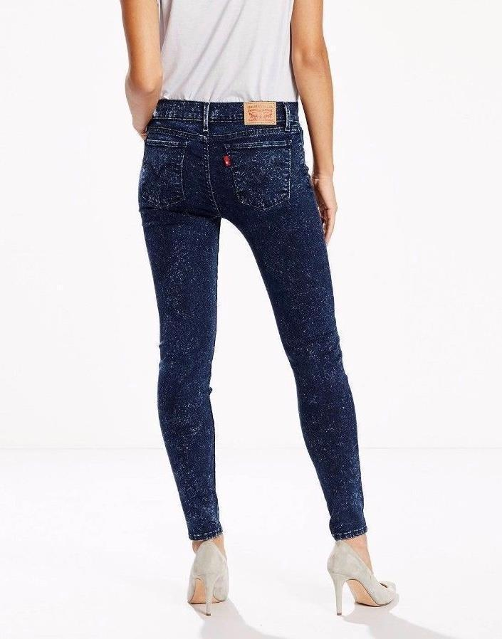 Levi's Juniors 710 Legging Jean - Elysian Field (0076) - Click Image to Close