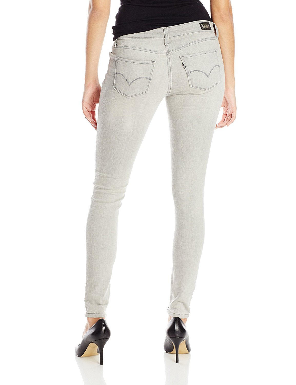 Levi's Juniors 535 Legging Jean - Ligth Grey (0214)