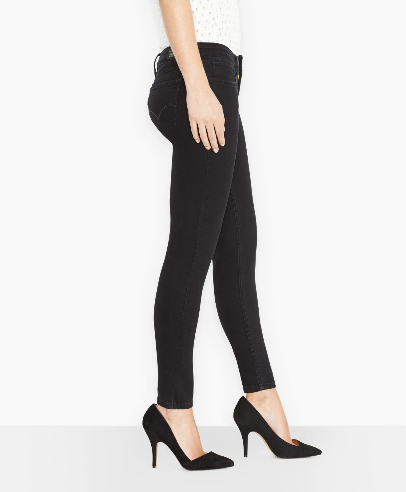 Levi's Juniors 535 Legging Jean - Black (0201)