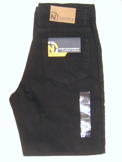 Nautica Easy Fit Jean : Black