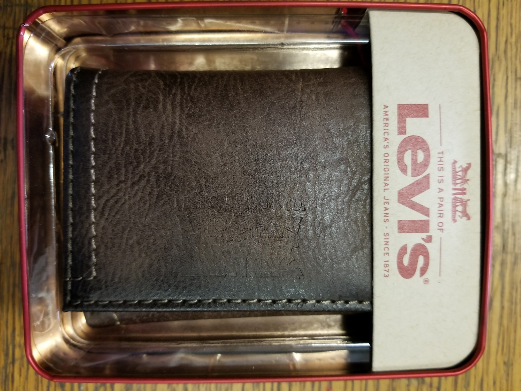 Levi's Trifold Wallet - Brown (31LV1189)