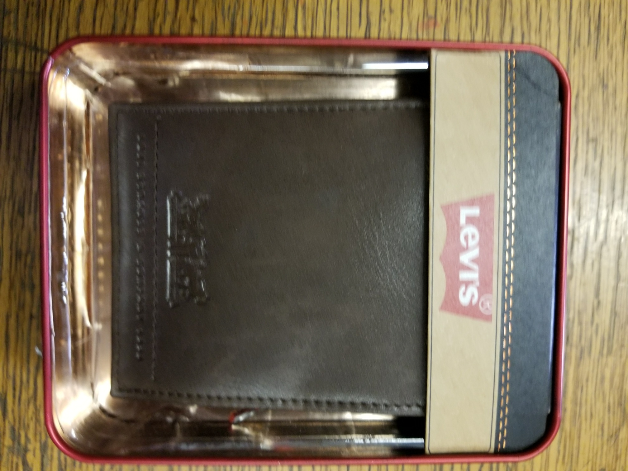 Levi's Bifold Wallet with l levi's - Brown (31LP2206)
