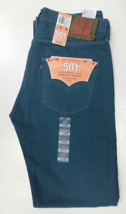 Levis 501 Jeans - Blue Midnight (1586)