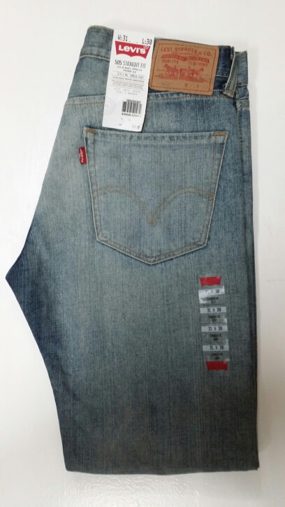 Levis 505 Jeans - Gas Light (0367)