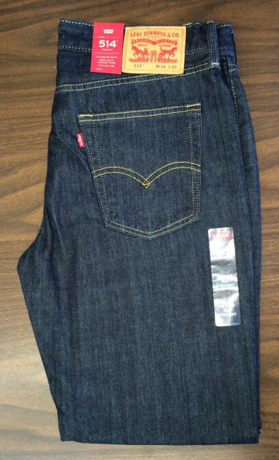 Levis 514 Jeans - Dark Denim (4010)