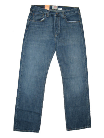 Levis 501 Jeans - Medium Iconic (0427) - Click Image to Close