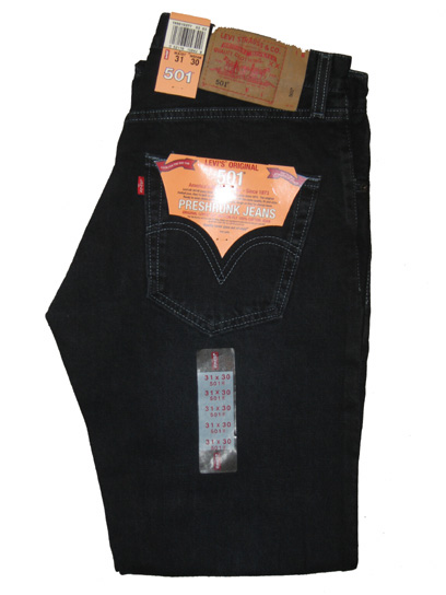 Levis 501 Jeans - Midnight Blue (2337)