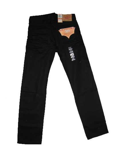 1be34916307 Levis 501 Jeans - Premium Original - Polished Black (0638) - $45.99 ...