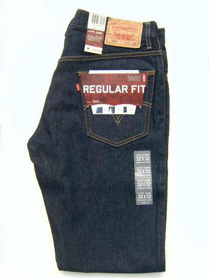Levis 505 Jeans - Dark Denim